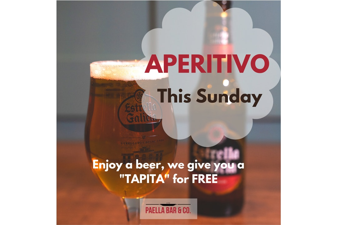 APERITIVO - This Sunday